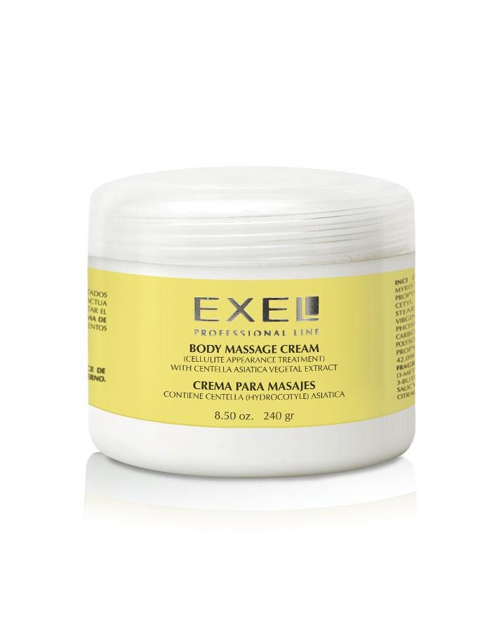 Crema para masajes con centella asiática 240 g