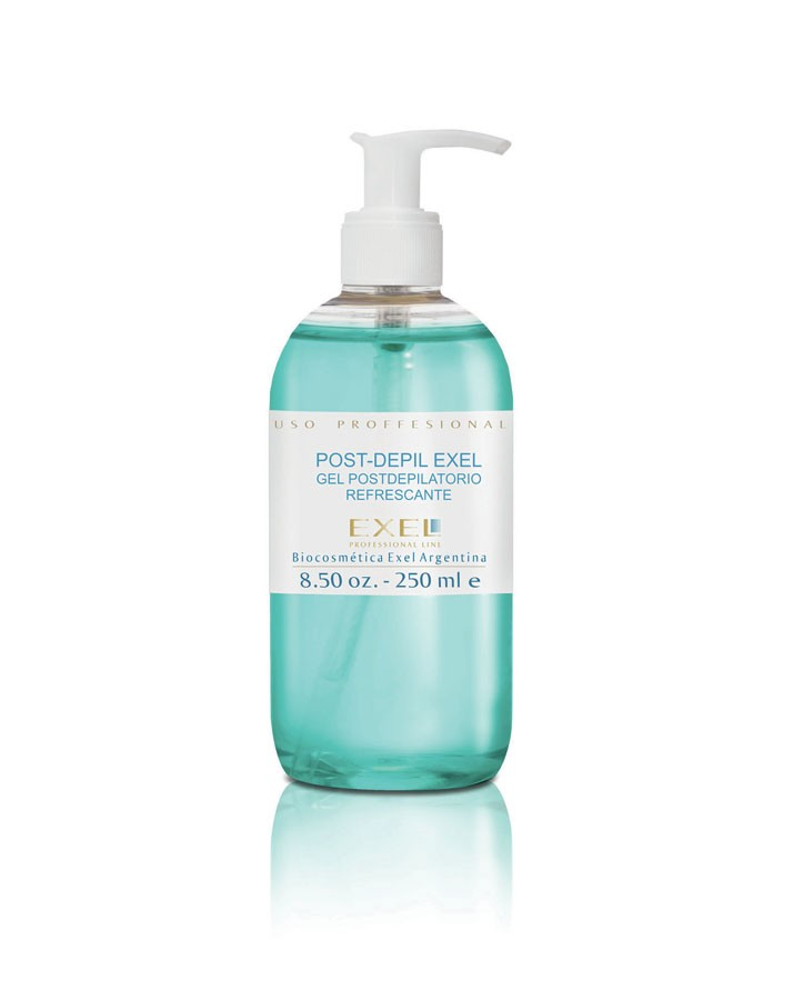 Gel post depilatorio refrescante 250 ml c/val