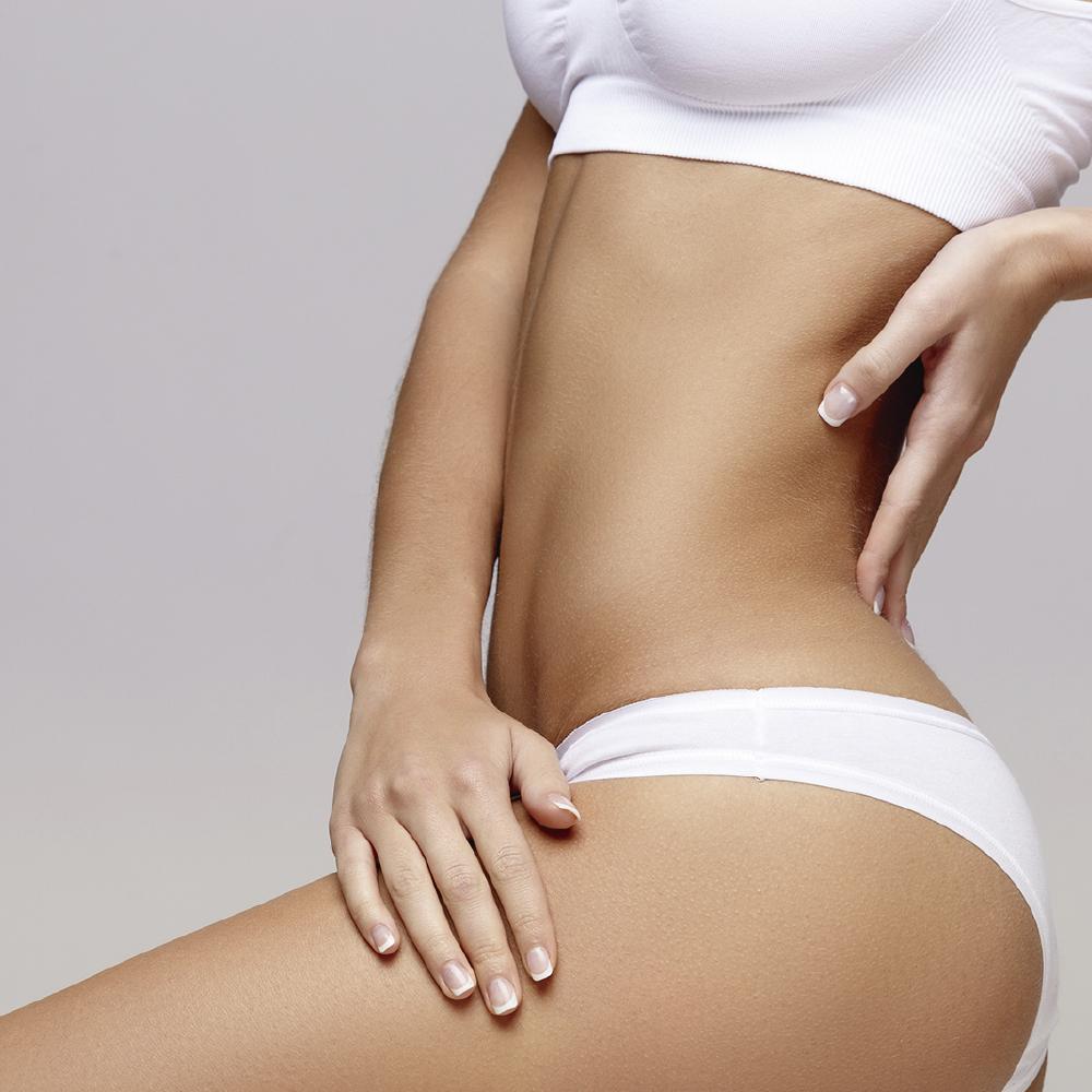 Tratamiento modelador en abdomen y miembros inferiores